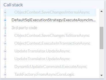 Call stack - Ozcode