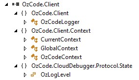 OzCode.Client namespace