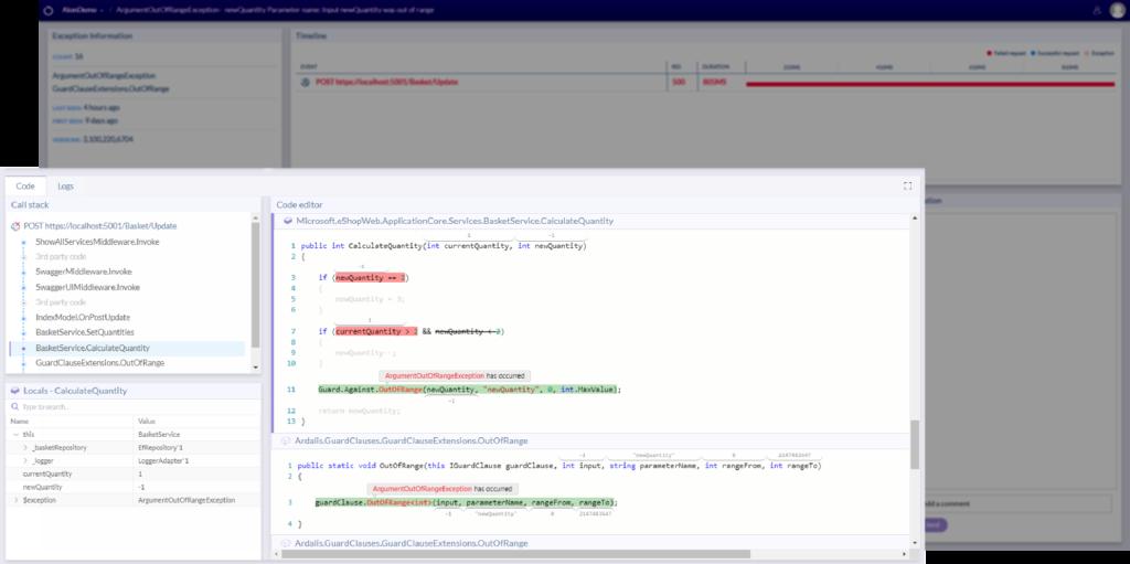 Code execution flow - Ozcode