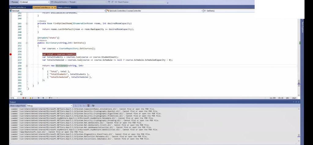 Debug a Docker Microservice - Ozcode